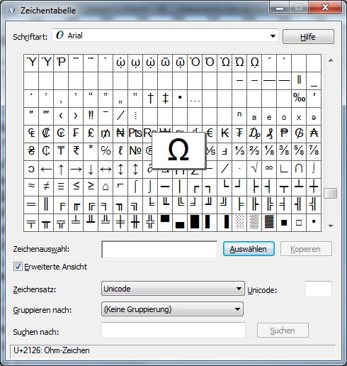 quadratmeter zeichen in word